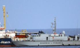 Ship fines remain, migrants out of security decree