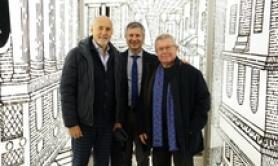 Archistar Libeskind a Torino, visita Museo Cinema