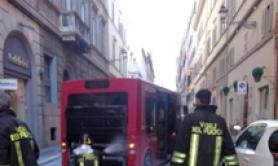 Another bus bursts into flames in Rome