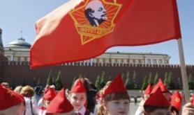 Giovani Pionieri comunisti a Mosca