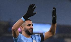Tripletta di Mahrez, 5-0 del City al Burnley