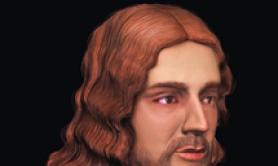 Raphael's face recreated in 3D