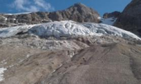 Marmolada Glacier will disappear in 25-30 yrs - CNR