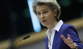 Stability needed during crisis-von der Leyen on govt vote