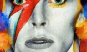 "Mostra su Bowie per 50/mo ""Space Oddity"""