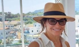 Gina Gershon a Ischia, vorrei essere Oriana Fallaci