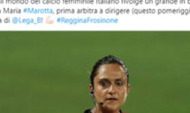 Soccer: First woman ref takes charge of Serie B match