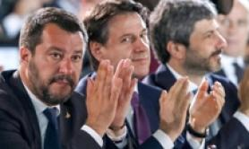 Salvini says he'd 'reason' with Merkel, Macron if necessary