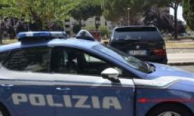 Rock thrown onto car in Rome