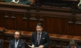 Conte defends ESM, tells opponents to say if want euro exit
