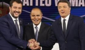 27 yrs of 'spot' politics, zero results- Renzi-Salvini