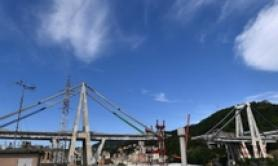 First part of new Genoa bridge coming next week-Bucci