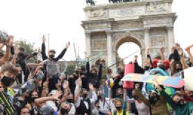 Sport: flashmob a Milano, nasce movimento Champions for change