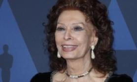 Sofia Loren 'Legend award' a Capri, Hollywood