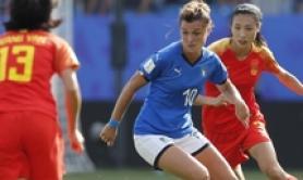 Mondiali: 2-0 a Cina, azzurre ai quarti