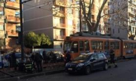 11 hurt in Turin tram collision