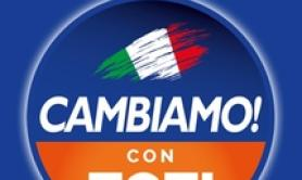Toti presents Cambiamo, says will be at next election