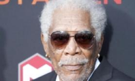 Morgan Freeman presenta 'Angel Has Fallen' a Los Angeles