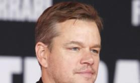 Matt Damon in California per prima film 'Ford v Ferrari'