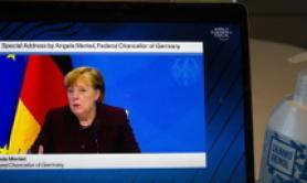 Italian G20 presidency working for global recovery - Merkel