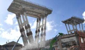 Two arrested over Camorra-linked ex Genoa bridge contractor