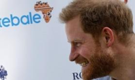 Prince Harry plays in charity polo match in Rome