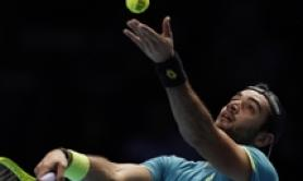 Tennis: Berrettini loses to Federer in ATP Finals