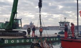 Venezia: recuperata edicola da canale