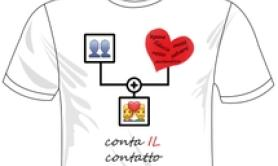 Parole per curare,ecco T-shirt educative