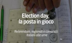 Election day, la posta in gioco