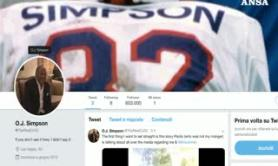 O.J. Simpson apre account su Twitter