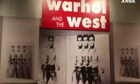 West e cowboy, in mostra un insolito Andy Warhol