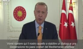Tensione nel Mediterraneo orientale, Erdogan apre al dialogo
