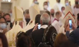 Papa Francesco celebra la prima messa in Iraq