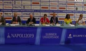 Universiadi, a Napoli la conferenza di apertura