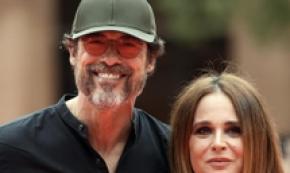 Alessandro Gassmann e sua moglie a Festival Cinema Roma