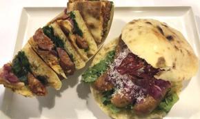 Ricette Basilicata - Panino Gourmet con pezzente di suino nero lucano - A cura dell'oste Gianbattista De Bonis
