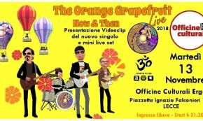 Rock e beat ispirato ai Beatles: esce Now & Then, nuovo video dei salentini The Orange Grapefruit