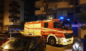 Trani, incendio doloso in studio commerciale: avvertimento?