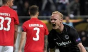 Europa League: Eintracht in semifinale