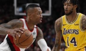 Nba: Portland bestia nera per i Lakers, ko 128-119