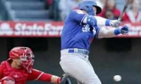 Baseball: partita di allenamento Dodgers vs Angels