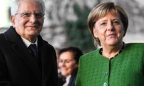 Mattarella reassures Merkel on Italy reforms