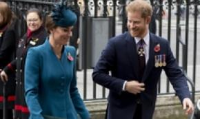 Harry e Kate in armonia a Westminster