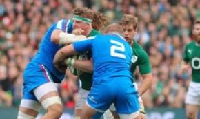 Rugby: Italy make five changes for Ireland clash