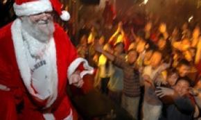 'Kids stop believing in Santa at eight' - report