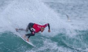 Il surfista Owen Wright al MEO Rip Curl Pro in Portogallo