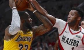 Basket: Nba, terzo ko di fila per i Lakers di Lebron James