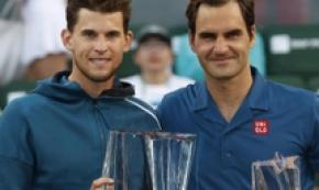 Match storico per Thiem, batte Federer e vince Indian Wells