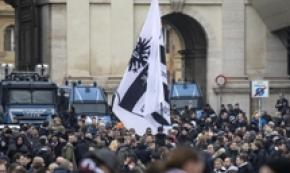 German fans clash with police before Lazio-Eintracht
